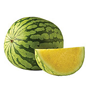 Fresh Yellow Flesh Seedless Watermelon