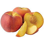 Fresh Yellow Peaches