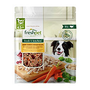 Freshpet Select Fresh From from the Kitchen Home Cooked Chicken Recipe Wet Dog Food