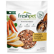 Freshpet Select Roasted Meals Tender Chicken Recipe Dog Food
