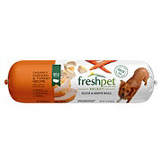 Freshpet Select Slice And Serve Chunky Chicken & Turkey Recipe Adult Dog Food