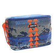 Fridge Pak Solid Lunch Kit, Blue Tribal