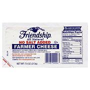 Friendship Farmer No Salt Added Cheese