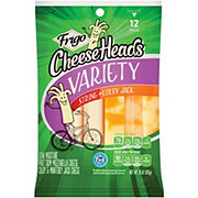 Frigo Cheese Heads Variety String & Colby Jack Cheese Sticks