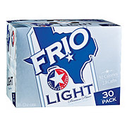 Frio Light Beer 30 Pack Cans