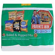 Frito Lay Chips, Baked & Popped Mix