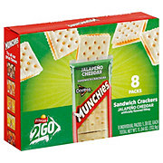 Frito Lay Munchies Jalapeno Cheddar Sandwich Crackers