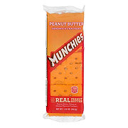 Frito Lay Munchies Peanut Butter On Cheese Sandwich Crackers