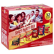 Frito Lay Spicy Party Mix Chips Variety Pack