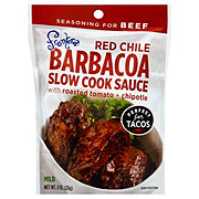 Frontera Mild Red Chile Barbacoa Slow Cook Sauce