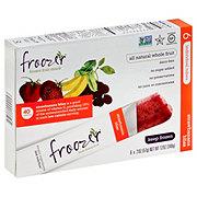 Froozer Frozen Fruit Snack Strawbanana Bliss