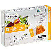 Froozer Frozen Fruit Snack Tropical Sunset
