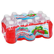 Fruit Splash Juniors Strawberry Water Beverage 15 PK Bottles