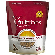 Fruitables Crunchy Pumpkin And Cranberry Flavored Dog Treats