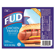 Fud Chicken & Pork Franks