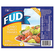 Fud Jumbo Turkey Franks