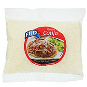 Fud Queso Cotija Mexican Style Grated Cheese