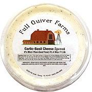 Full Quiver Farms Garlic Basil Cheese Spread