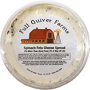 Full Quiver Farms Spinach Feta Cheese Spread