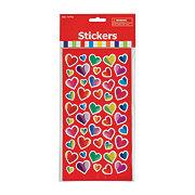 Fun Express Valentine Heart Stickers
