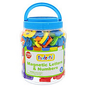 Funderful Magnetic Letters & Numbers Bucket