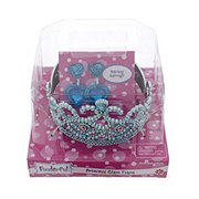 Funderful Princess Glam Tiara with Earrings, Colors May Vary