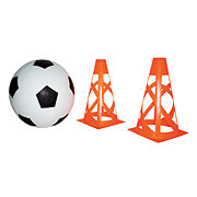 Funderful Soccer Ball with Cones