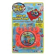 Funtastic Wind Up Fishing Game, Assorted Colors