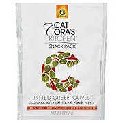 Gaea Cat Cora's Kitchen Pitted Green Olives Seasoned with Chili and Black Pepper