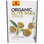 Gaea Organic Pitted Green Olives