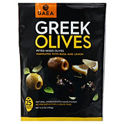 Gaea Pitted Mixed Greek Olives With Basil & Lemon