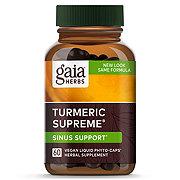 Gaia Herbs Curcumin Synergy Tumeric Supreme Allergy Capsules