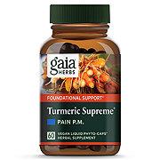 Gaia Herbs Curcumin Synergy Tumeric Supreme Pain PM Capsules