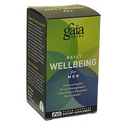 Gaia Herbs Daily WellBeing For Men Caps