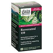 Gaia Herbs DailyWellness Resveratrol 150 Liquid Phyto-Caps