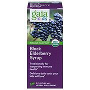 Gaia Herbs GaiaKids Black Elderberry Syrup