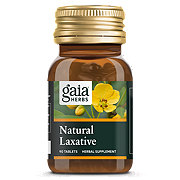 Gaia Herbs Rapid Relief Natural Laxative Tablets