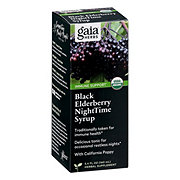 Gaia Herbs RapidRelief Black Elderberry Nighttime Syrup