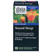 Gaia Herbs RapidRelief Sound Sleep Vegetarian Liquid Phyto-Caps