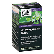 Gaia Herbs Single Herbs Ashwagandha Root Phyto-Caps