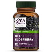 Gaia Herbs Single Herbs Black Elderberry Vegetarian Liquid Phyto-Caps