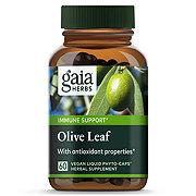 Gaia Herbs Single Herbs Olive Leaf Vegetarian Liquid Phyto-Caps