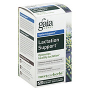 Gaia Herbs SystemSupport Lactation Support Vegetarian Liquid Phyto-Caps