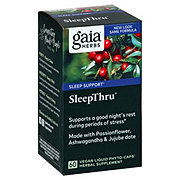 Gaia Herbs SystemSupport Sleep Thru Vegetarian Liquid Phyto-Caps