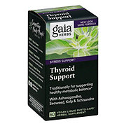 Gaia Herbs SystemSupport Thyroid Support Vegetarian Liquid Phyto-Caps