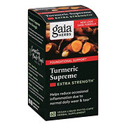 Gaia Herbs SystemSupport Turmeric Supreme Vegetarian Liquid Phyto-Caps
