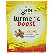 Gaia Herbs Tumeric Boost Restore Packet