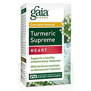 Gaia Herbs Tumeric Supreme Heart Dietary Supplement