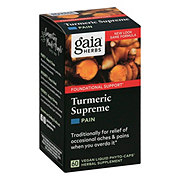 Gaia Herbs Tumeric Supreme Pain Dietary Supplement
