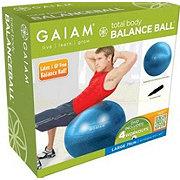 Gaiam Total Body Balance Ball Kit Blue 75 CM